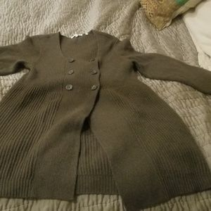 Vince Cashmere Sweater/Jacket